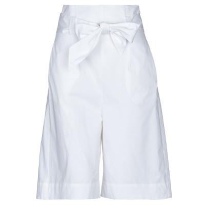 NIŪ バミューダパンツ ホワイト XS コットン 95% / ポリウレタン 5% バミューダパンツ