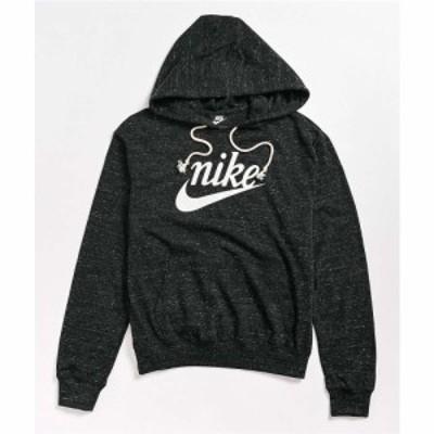 ナイキ NIKE SB レディース パーカー トップス Nike Vintage Black Hoodie Charcoal