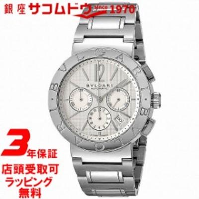 [店頭受取対応商品] [3年保証] ブルガリ BVLGARI 腕時計 ウォッチ BB42WSSDCH ブルガリブルガリ ホワイト メンズ [並行輸入品]