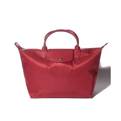 【ロンシャン】 LE PLIAGE NEO HAND BAG レディース レッド F Longchamp