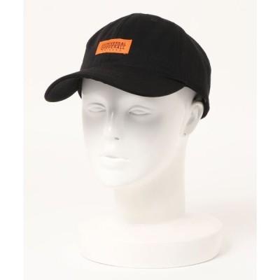 帽子 キャップ 【UNIVERSALOVERALL/ユニバーサルオーバーオール】TCツイルロゴキャップ ワンポイントロゴ