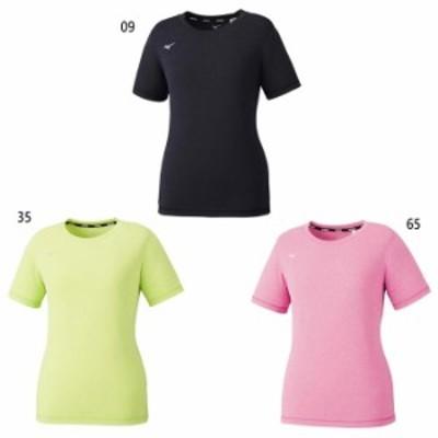 ミズノ レディース Tシャツ フィットネス トレーニングウェア トップス 半袖Tシャツ 送料無料 Mizuno 32MA1811