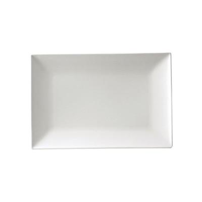 スパッツィオ レクタンギュラープレート白 M 9インチ(7-2273-0901)