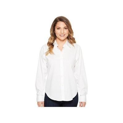 LAUREN Ralph Lauren Petite Cotton Poplin Shirt レディース シャツ トップス White