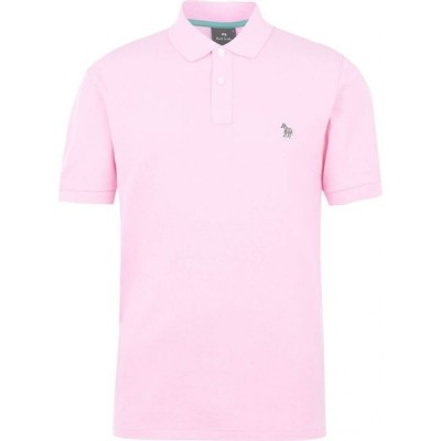 ポールスミス PS Paul Smith メンズ ポロシャツ トップス Zebra Reg Polo Light Pink