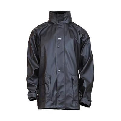 Helly Hansen作業着メンズImpertechデラックス雨と釣りジャケット US サイズ: 4L カラー: ブラック