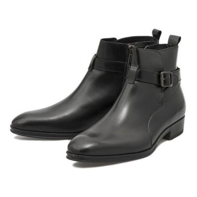 G.C.MORELLI ジャンカルロモレリ JODPHUR ジョッパ—ブーツ GM01296 NERO