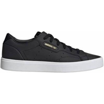 アディダス レディース スニーカー シューズ adidas Women's Sleek Shoes Black/White