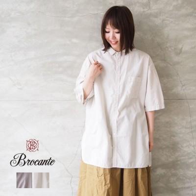 ブロカント Brocante コットンシャツ レディース ヴロン シャツ  36-0229X チュニック