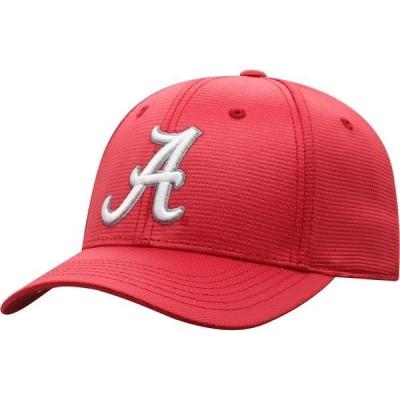 トップ・オブ・ザ・ワールド 帽子 アクセサリー メンズ Top of the World Men's University of Alabama Progo Cap Medium Red