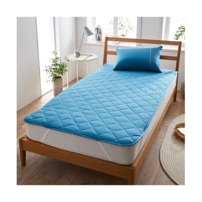 綿100%選べるカラー平織り敷きパッド 敷きパッド・敷パッド, ベッドパッド, Bed pats(ニッセン、nissen)