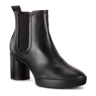 エコー ブーツ&レインブーツ シューズ レディース Women's Shape Sculptured Motion 55 Chelsea Booties Black