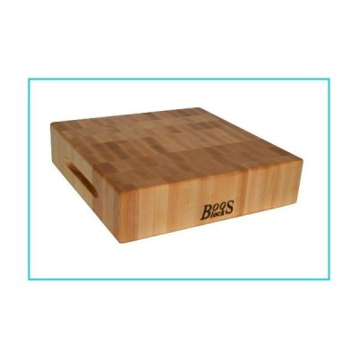 John Boos Maple Wood End Grain Reversible Butcher Block Cutting Board, 12 x 12 x 3 Inches by John Boos【並行輸入品】