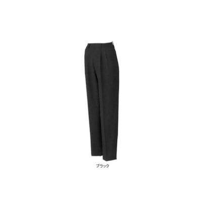 作業服 ズボン 作業着 サンエス CR20158 レディース脇ゴムパンツ 6L・ブラック9