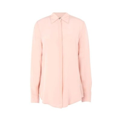 LAUREN RALPH LAUREN 無地シャツ&ブラウス ファッション  レディースファッション  トップス  シャツ、ブラウス  長袖 ライトピンク