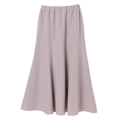 ロングソフトマーメイドスカート