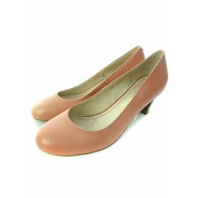 【中古】シンプリシテェ Simplicite パンプス 靴 シューズ ピンク 38 レディース