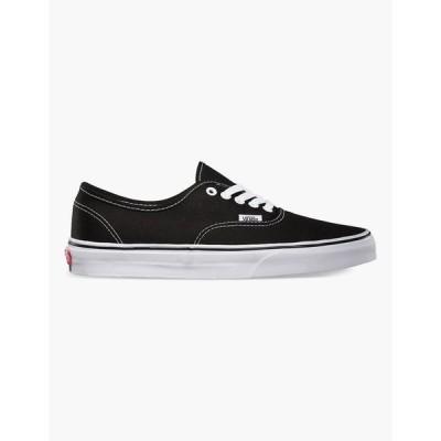ヴァンズ メンズ スニーカー シューズ・靴 Authentic Black Shoes BLACK