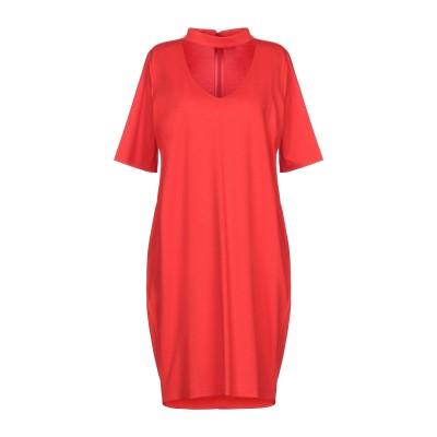 CRISTINAEFFE ミニワンピース&ドレス レッド 42 レーヨン 70% / ナイロン 24% / ポリウレタン 6% ミニワンピース&ドレス