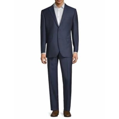 サックスフィフスアベニュー Men Clothing Two-Piece Wool Suit