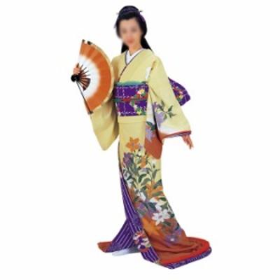 裾引き(引き摺り)着物 =舞台衣装 日本舞踊 民踊 新舞踊 芸者=