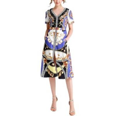 バーリコ レディース ワンピース トップス BURRYCO Dress multicolor