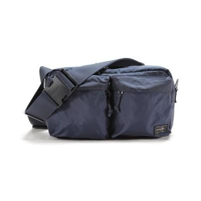 【カバンのセレクション】 吉田カバン ポーター フォース ウエストバッグ ボディバッグ メンズ 横型 PORTER 855−07418 ユニセックス ネイビー フリー Bag&Luggage SELECTION