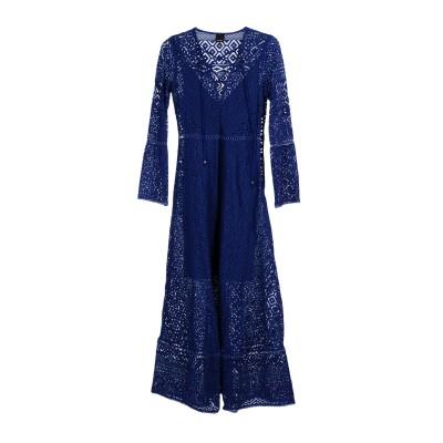 ピンコ PINKO ロングワンピース&ドレス ブルー 38 100% ナイロン ポリエステル ロングワンピース&ドレス