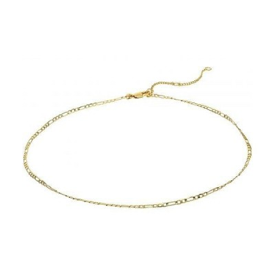 Madewell レディース 女性用 ジュエリー 宝飾品 ネックレス Chain Skinny Figaro Necklace - Vintage Gold