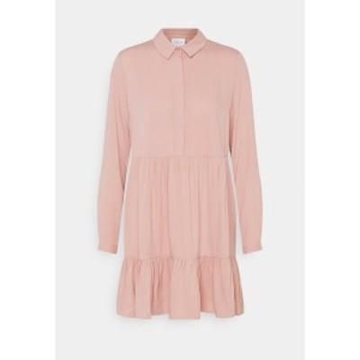 ヴィラ プティ レディース ワンピース トップス VIMOROSE SHIRT DRESS - Day dress - misty rose misty rose