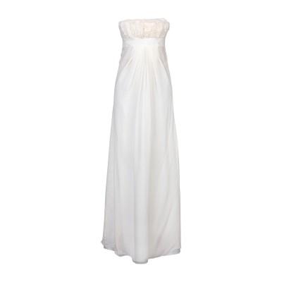 ヴァレンティノ VALENTINO ロングワンピース&ドレス アイボリー 42 シルク 100% ロングワンピース&ドレス