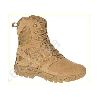 Merrell Moab 2 Defense Unisex Work Boots, Dark Coyote, 10, Medium Width並行輸入品