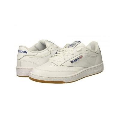 Reebok Lifestyle リーボック メンズ 男性用 シューズ 靴 スニーカー 運動靴 Club C 85 - Int/White/Royal/Gum