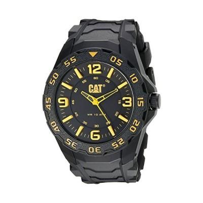 CAT WATCHES Men's LB11121137 Motion Analog Display Quartz Black Watch 並行輸入品