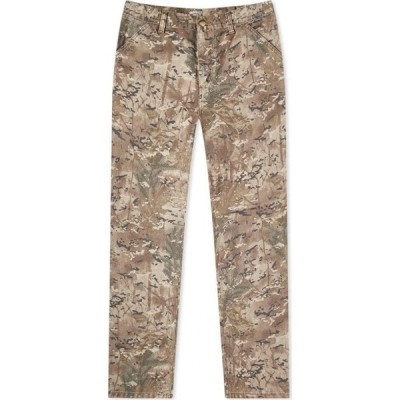 カーハート Carhartt WIP メンズ ジーンズ・デニム ボトムス・パンツ Single Knee Pant Camo Combi Desert Canvas