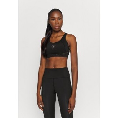アディダス レディース カットソー トップス TRUEPUR BRA - Medium support sports bra - black black