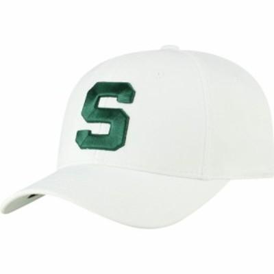 トップオブザワールド Top of the World メンズ キャップ 帽子 Michigan State Spartans Phenom 1 1Fit Flex White Hat