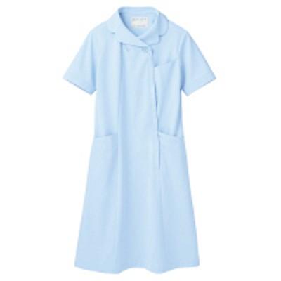住商モンブラン住商モンブラン ナースワンピース(半袖) 医療白衣 サックスブルー(水色) 3L 73-1776(直送品)