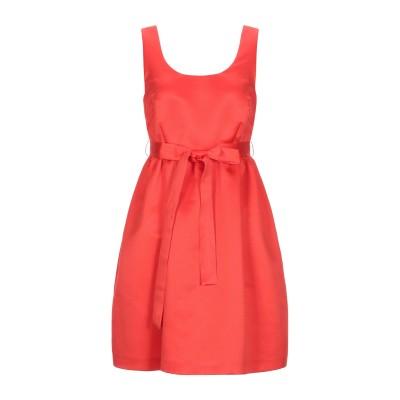 LANACAPRINA ミニワンピース&ドレス レッド 46 ポリエステル 80% / コットン 20% ミニワンピース&ドレス