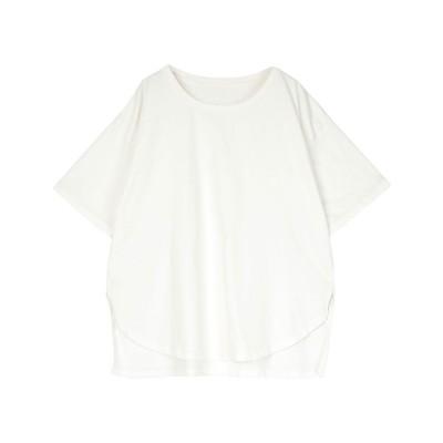 ユアーズ ur's オーガニックコットンTシャツ (オフホワイト)