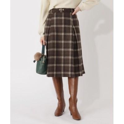 grove / 【S-LL】クラシカルチェックビット付きスカート WOMEN スカート > スカート