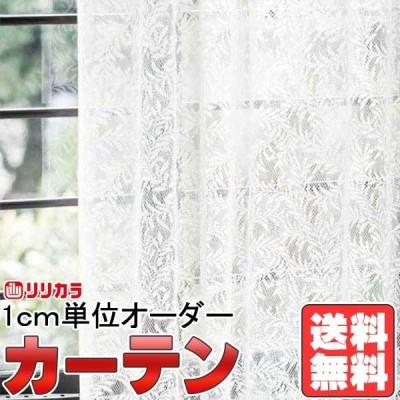 カーテン&シェード リリカラ オーダーカーテン FD Lace FD53568 レギュラー縫製仕様 約2倍ヒダ