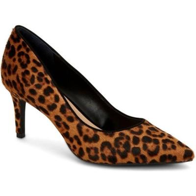アルファニ Alfani レディース パンプス シューズ・靴 Step 'N Flex Jeules Pumps Dark Leopard Chocolate