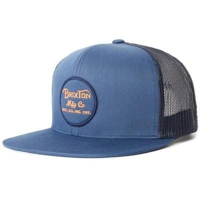 ブリクストン メンズ 帽子 アクセサリー Brixton Wheeler Mesh Hat