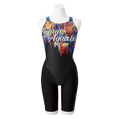 ◎ミズノ レディース競泳水着 FINA承認 ハーフスーツ STREAM ACE N2MG074296