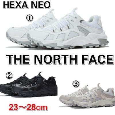 THE NORTH FACE ノースフェイス ヘキサネオ スニーカー 白 黒 ベージュ メンズ レディース