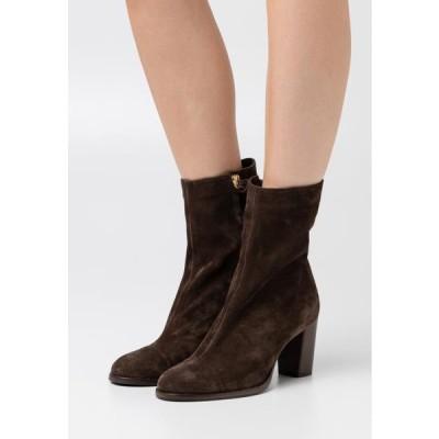 クローズド レディース 靴 シューズ ROSEMARY - Classic ankle boots - cold hazel