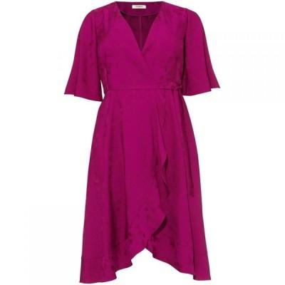 スタジオ8 Studio 8 レディース ワンピース ワンピース・ドレス Nola Wrap Jacquard Dress Magenta