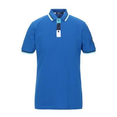 DOOA ポロシャツ ブライトブルー S コットン 100% ポロシャツ