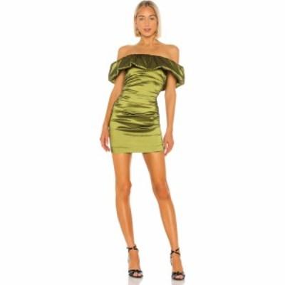 エヌビーディー NBD レディース ワンピース ミニ丈 ワンピース・ドレス Brianne Mini Dress Moss Green